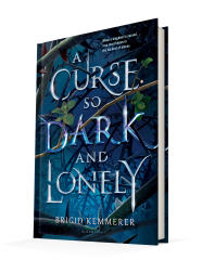 reading a curse so dark and lonely