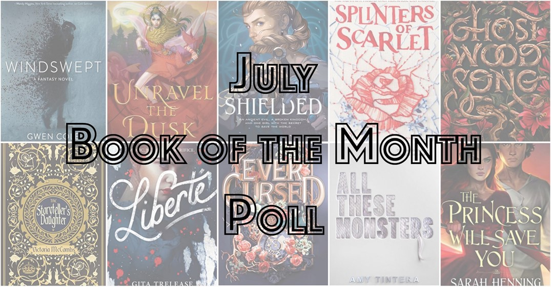 july book of the month vote