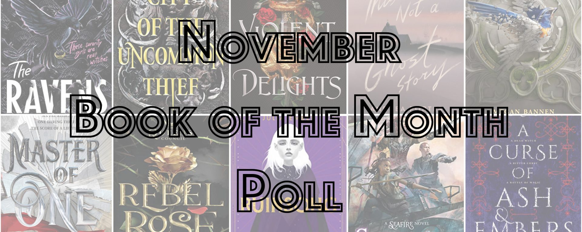 November Book of the Month Poll